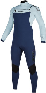 2019 Mystic Mens Star 5/3mm Double Front Zip Wetsuit 200012 - Navy / Grey
