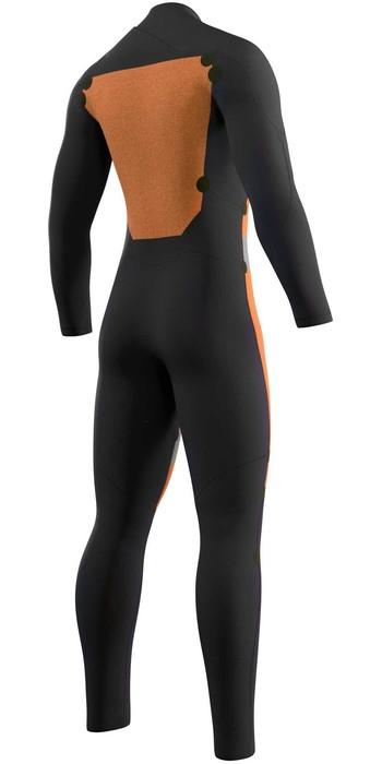 2021 Mystic Mens Star 3/2mm Double Front Zip Wetsuit 210307 - Black