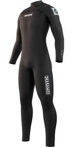 2021 Mystic Mens Star 5/3mm Double Front Zip Wetsuit 210305 - Black