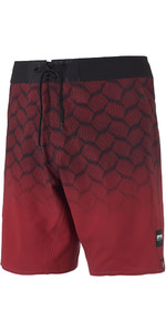 2019 Mystic Mens Supreme Boardshorts Dark Red 190085