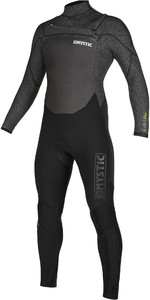 2019 Mystic Mannen Voltt 5/4/3mm Chest Zip Wetsuit 20001 - Black
