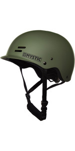 2019 Mystic Roofdierhelm Donker Olive 180162