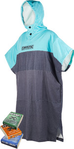 Mystic Regular Poncho / Skift Robe Mint & Mixed Matunas Wax