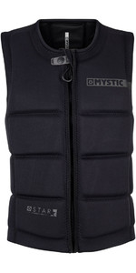 Mystic Star Front Zip Wake Impact Vest Sort 180152