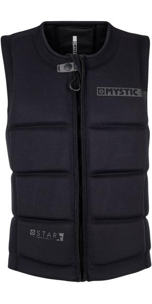 2018 Mystic Star Front Zip Wake Impact Vest Sort 180152