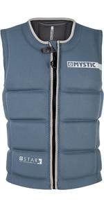 2019 Mystic Star Zip-vest met slageffect voorzijde 180152
