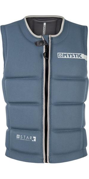2018 Mystic Star Front Zip Wake Impact Vest Navy 180152