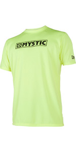2019 Mystic Star S / S Loosefit Quick Dry Rash Vest Lime 180107