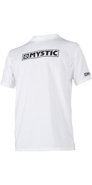2019 Mystic Star S / S Loosefit Quick Dry Rash Vest White 180107