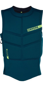 2019 Mystic Star Side Zip Kite Impact Vest 180088 - Teal