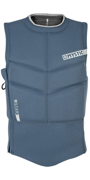 2019 Mystic Star Side Zip Kite Impact Weste Navy 180088