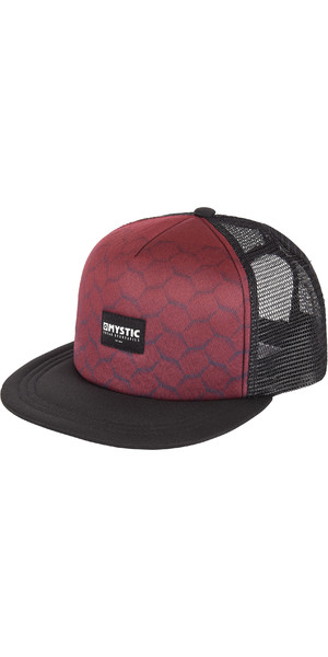 2019 Mystic Supreme Cap Dark Red 190092
