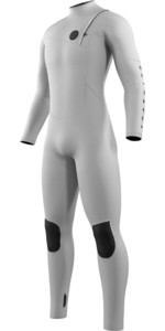 2021 Mystic The One 5/3mm Zip Free Wetsuit 210061 - White