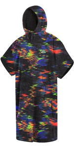 2021 Mystic Velour Change Robe Poncho 35018.210134 - Rainbow