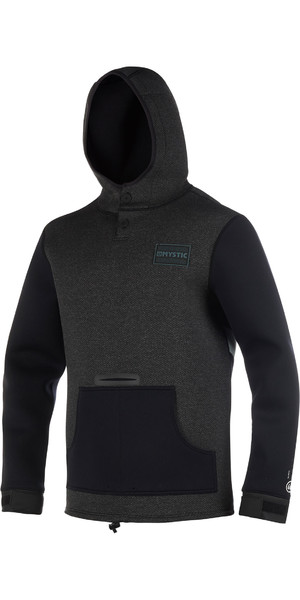 2019 Mystic Voltage Sweat Neoprene Moletom Com Capuz Preto / Branco 190165