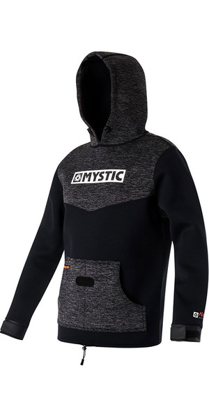 2018 Mystic Voltage Sweat Neopren Hoodie Schwarz 170090