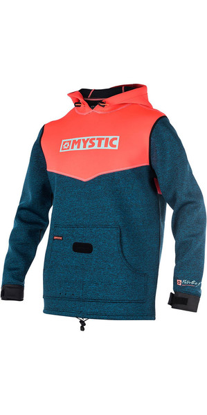 2018 Mystic Voltage Sweat Neopreno sudadera con capucha Coral 170090