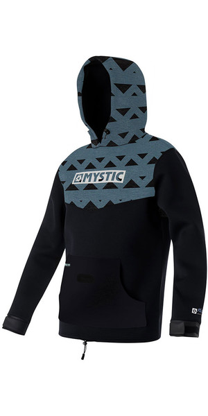 2018 Mystic Voltage Sweat Neoprene Hoody Pewter 170090