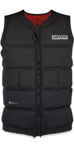 2020 Mystic Voltt Wake Impact Vest Front Zip WVO - Black