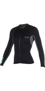 2020 Mystic Womens Brand 1.5mm Neoprene Jacket Black 190171