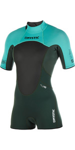2019 Mystic Vrouwen Brand 3/2mm Back Zip Shorty Wetsuit Wintertaling 180071