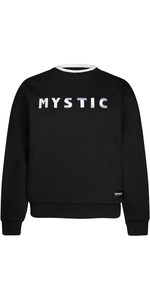 2021 Mystic Womens Brand Crew Sweat 210032 - Black