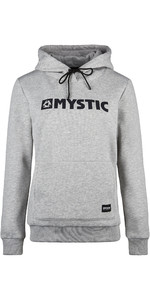 2019 Mystic Women Brand Hooded Sweat 190537 - Dezember Sky