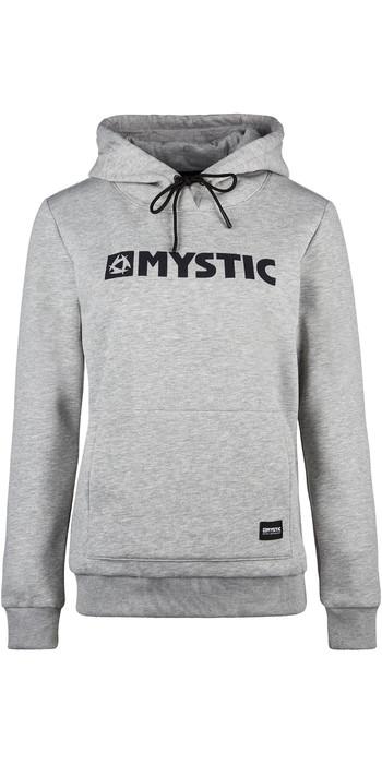 2021 Mystic Women Brand Hooded Sweat 190537 - Dezember Sky