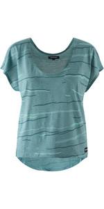 Tee Shirt Camryn Pour Femme Mystic 2019 Vert Océan 190543