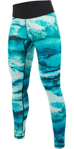 2019 Mystic Womens Dazzled Rash Pants Mint 190103