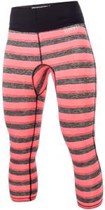 2018 Mystic Womens Dazzled Rash Trousers Coral 170298