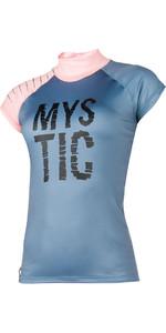 2018 Mystic Damen Dutchess S / S Rash Weste Zinn 170295