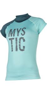 2018 Mystic Damen Dutchess S / S Rash Weste Teal 170295
