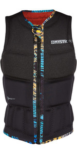 2020 Mystic Womens Gem Front Zip Wake Impact Vest 200185 - Black
