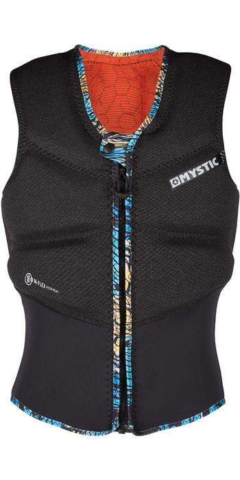 2021 Mystic Damen Gem Front Zip Kite Impact Weste 200110 - Schwarz