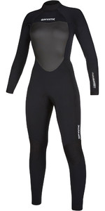 2019 Mystic Womens Star 5/3mm Back Zip Wetsuit 200027 - Black