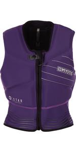 2019 Mystic Womens Star Front Zip Kite Impact Vest Purple 180090
