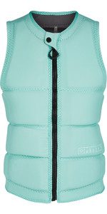 2020 Mystic Womens Star Impact Vest Front Zip 200188 - Mist Mint