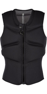 2020 Mystic Womens Star Impact Vest Kite Front Zip 200112 - Black
