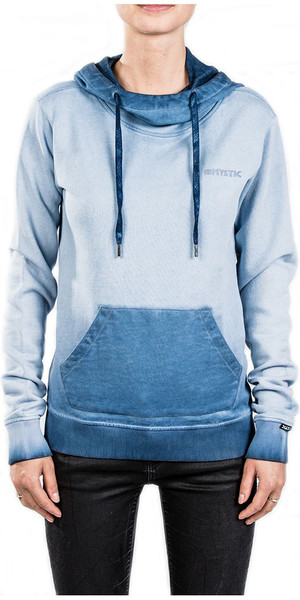 2018 Mystic Damen Stow Sweat Powder Blue 180520