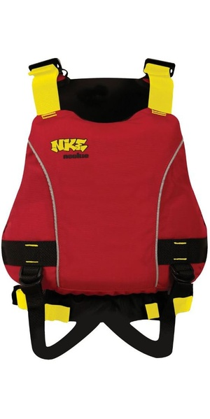 Gilet d'aide à la flottabilité NKE Junior Center 2019, rouge BA03