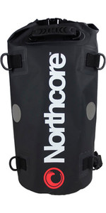 2020 Northcore 40ltr Dry Bag / Back Pack Zwart Noco67b