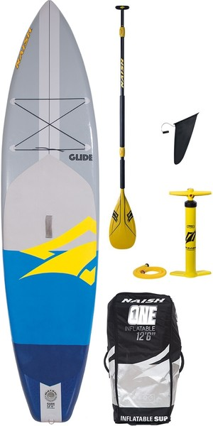 "2018 Naish Glide SUP 12'0 ""INC Paddle, Bolsa, Bomba e Trela"