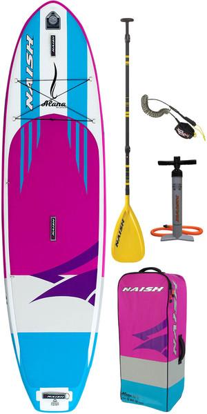 "Naish Alana 10'6 ""x 32"" Stand Up Paddle Board Paket Inc. Paddel, Tasche, Pumpe und Leine"