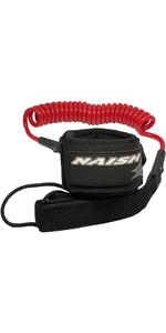 2020 Naish Coiled Sup Paddleboard Leash 93900 - Rojo