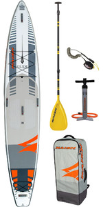 "2020 Naish Glide 14'0 ""x 30"" Fusion Stand Up Paddle Board Paket Inkl. Paddel, Tasche, Pumpe & Leine"