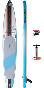 2020 Naish 14'0 X 27 Fusion Carbon Stand Up Paddle Board Package - Board, Bag, Pump & Leash 15210