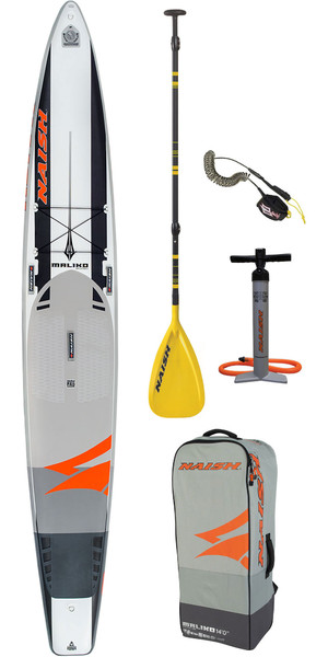 "2019 Naish Maliko 14'0 ""x 25"" Fusion Stand Up Paddle Board Paket Inc. Paddel, Tasche, Pumpe und Leine"
