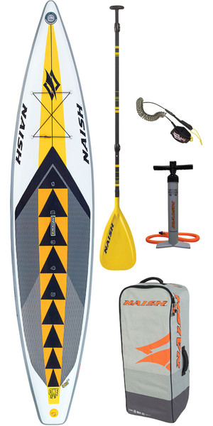 "2019 Naish One 12'6 ""x 30"" stand-up paddle board-pakket incl. Paddle, tas, pump & leash"