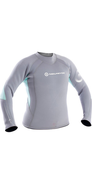 2018 Neil Pryde Ladies Elite Firewire 3mm Camiseta de manga larga Saphire / Glacier SAB603